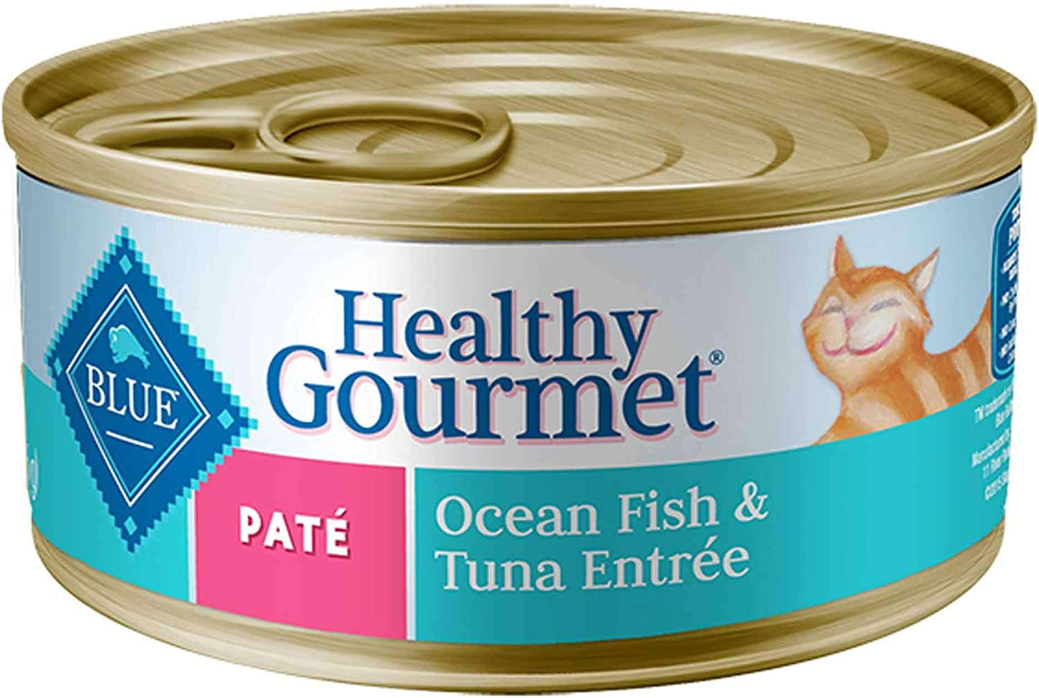Blue Buffalo Adult Pate - Ocean Fish And Tuna Entree - 24 X 5.5 Oz