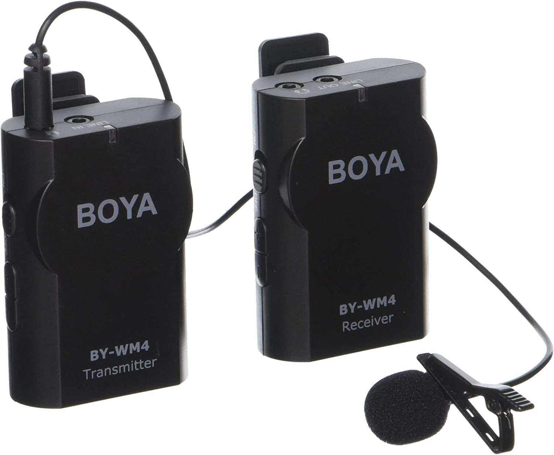 Amazon Com Boya Wireless Microphone Kit By025 Camera Photo