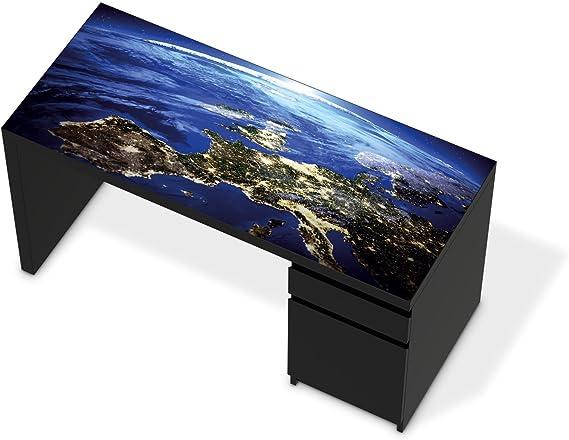 Adhesivo de IKEA solía mesa de escritorio con diseño de tablero de ...