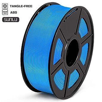 SUNLU Filamento ABS 1.75mm 1kg Impresora 3D Filamento, Precisión ...