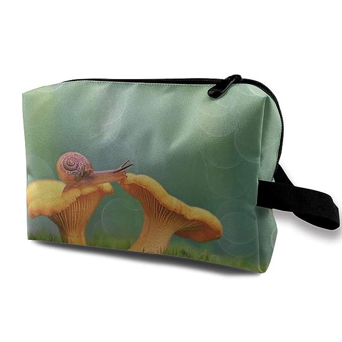 2d227a5273d3 Amazon.com: Fantasy Mushroom Cosmetic Bags Makeup Organizer Bag ...