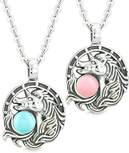 Aokarry Womens S925 Silver Necklace Pig Pendant Necklaces for Women Rose Gold