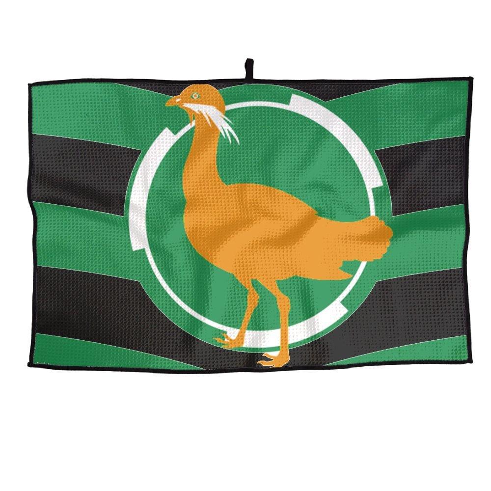 ゲームLifeイギリス国旗Personalizedゴルフタオルマイクロファイバースポーツタオル   B07FC666VP