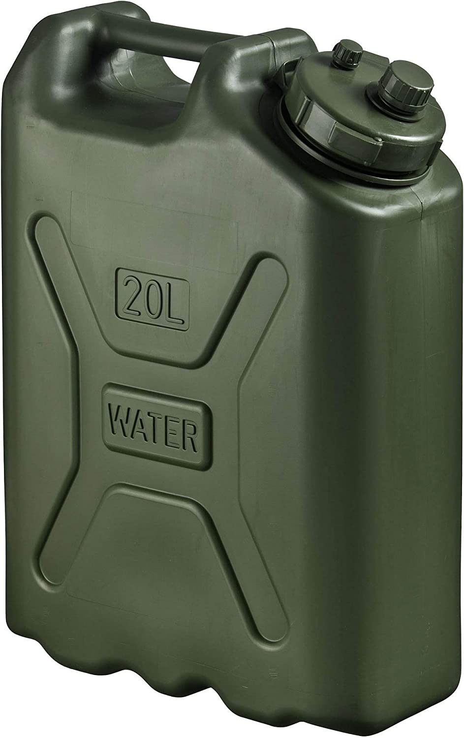 Scepter BPA Durable 5 Gallon 20 Liter Portable Water Storage Container (5 Pack)