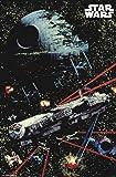 "Trends International Star Wars: Saga - Space Battle, 22.375"" x 34"", Unframed Version"