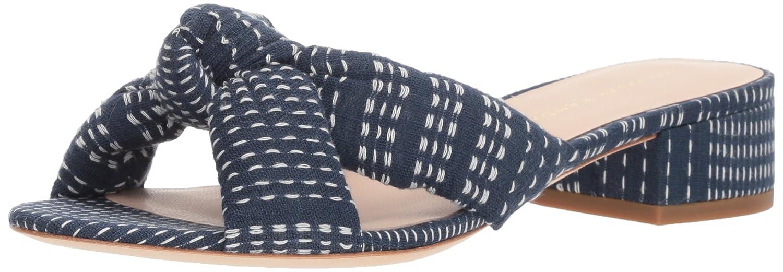 Loeffler Randall Women's Elsie Slide Sandal B07C4BH66L 10.5 B(M) US|Eclipse/Ivory