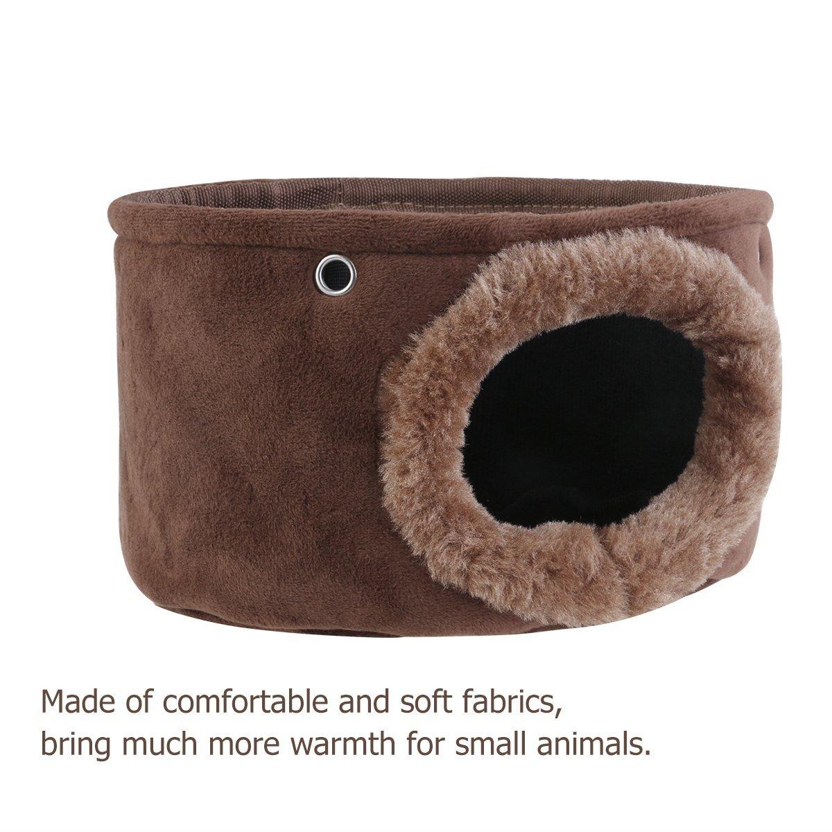 cincill/à porcellini d/'India per scoiattoli ratti e topi WINOMO piccola amaca giocattolo per animali da compagnia