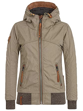 ebdd9243cc58 Naketano Damen Jacke Pallaverolle Jacke  Amazon.de  Bekleidung