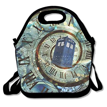 Doctor Who SuperWW Doctor Who Box Lunch Bag Tote Handbag
