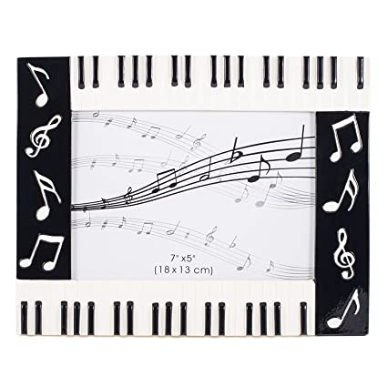 Amazon Piano Keyboard Musical Notes Treble Clef Decorative 5x7