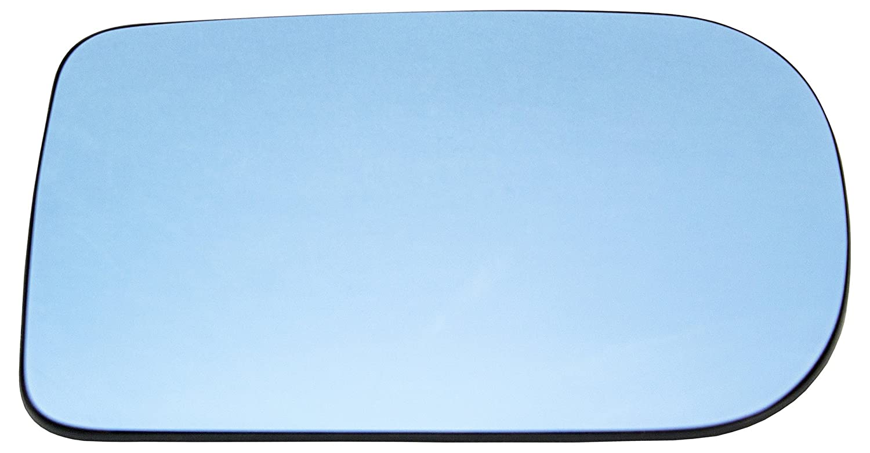 TarosTrade 57-0582-R-45869 Cristal De Retrovisor Calefactable Azul Lado Derecha