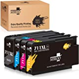 NYT New Compatible 1 Pack HP 771 CE043A Ink Cartridge for HP DesignJet T7100 T7200 Photo Black