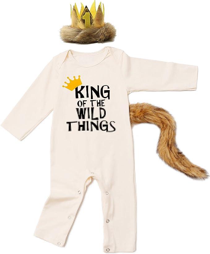 Amazon.com: Disfraz de león para bebé de Halloween, disfraz ...