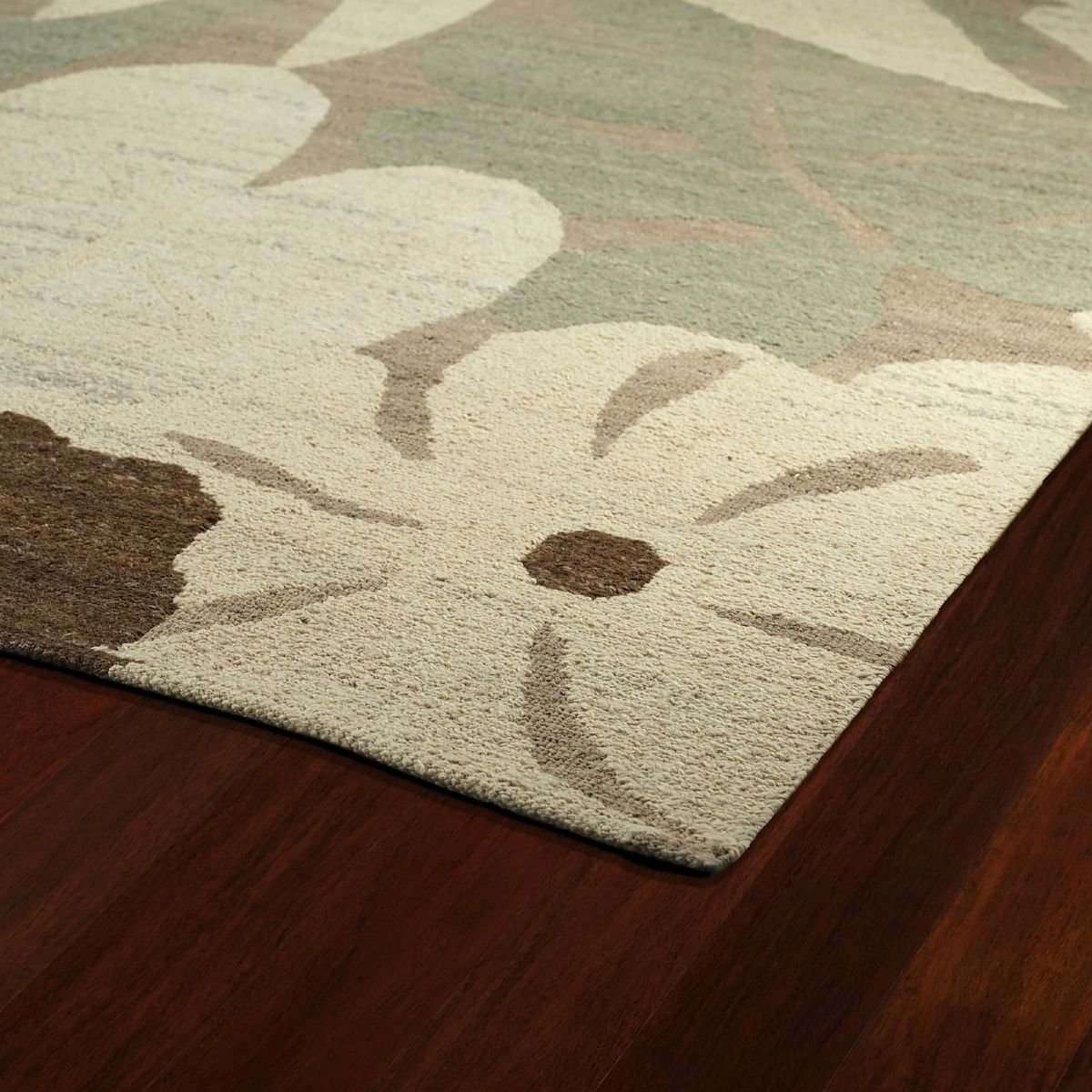 Kaleen Contemporary Rectangle Area Rug 5'x7'9'' in Spa Color From Mallard Creek Collection by Kaleen (Image #2)
