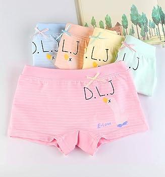 dd7d201be8fd Girls Underwear Toddler Little Hipster Boyshort Kids Briefs Cotton Panties  5 Pack. BOOPH Girls Underwear Baby Toddler Goose Stripe Hipster Boyshort  Kids ...