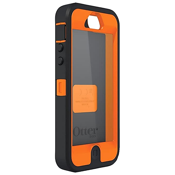 san francisco 74f5f e8398 OtterBox Defender Series Case for iPhone 5 / 5S / SE (Not Compatible with  Touch ID) Realtree Camo - Max 4HD Orange