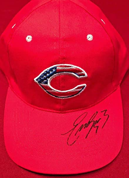 newest 5908f ae59f Cincinnati Reds Eugenio Suarez Autographed Signed Memorabilia  7 Usa Hat  Limited Edition PSA DNA New at Amazon s Sports Collectibles Store