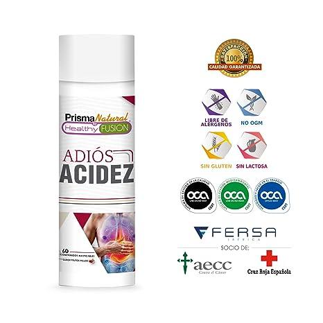 ADIÓS ACIDEZ | Potente Antiácido y Antirreflujo | Mejora la Salud Digestiva | Inhibe el Ácido ...