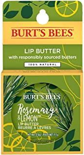 product image for Burt's Bees 100% Natural Moisturizing Lip Butter with Rosemary & Lemon, 6 Tins
