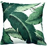 Proven beautiful banana leaves Decorative Pillow Case 18 x 18 inch
