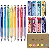 Pilot Color Eno Mechanical Pencil, 0.7mm, 8 Colors, Mechanical Pencil Lead Refill, 0.7mm, 8 Colors, Sticky Notes Value…