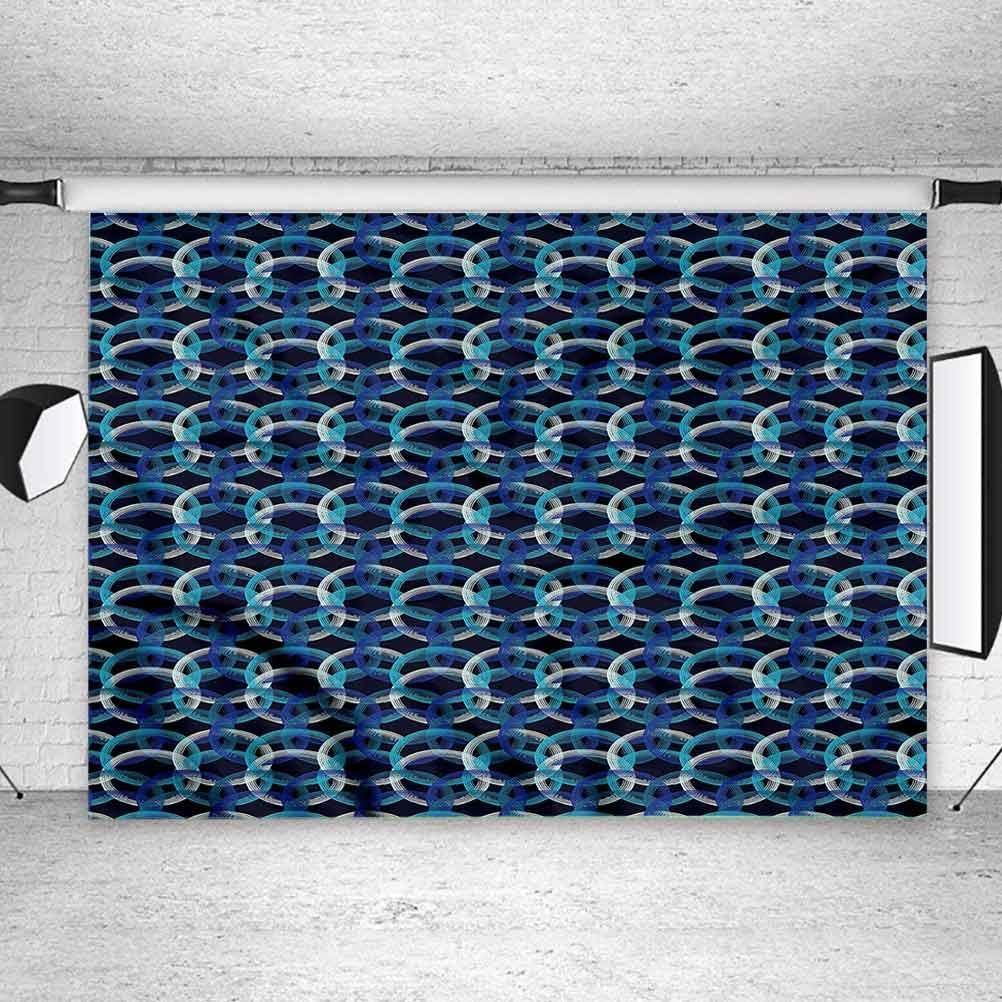 5x5FT Vinyl Photography Backdrop,Geometric,Modern Polka Dots Photoshoot Props Photo Background Studio Prop