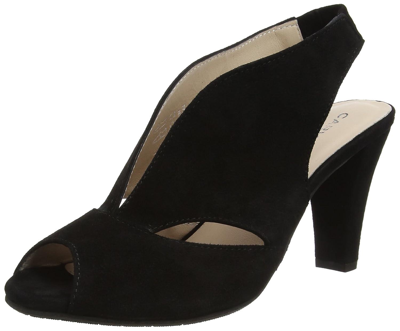aef9076a4c Carvela Comfort Women's Arabella Np Open-Toe Heels, (Black), 5 UK 38 ...