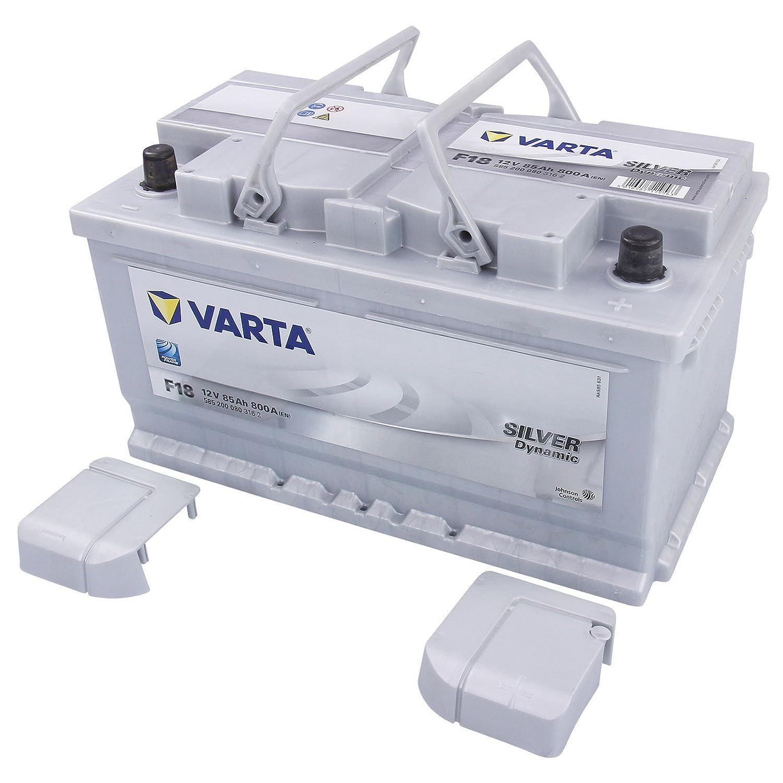 VARTA F18 AUTO-BATTERIE 12V 85AH 800A ERSETZT 77-AH 79-AH 80-AH 82-AH 84-AH