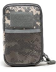 b6937cc930 AOLVO EDC extérieur Commuter Sac armée Ventilateur Accessoires Sac,  Camouflage Poche d'embrayage,