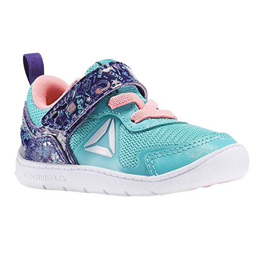 692a2fbc25fb Reebok Ventureflex Stride 5 NAA Shoe - Toddler s Training 3 Teal Team  Purple Peppy