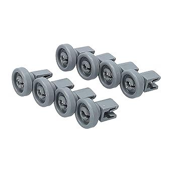 Lavavajillas juego de ruedas [cesta superior] recambios para ...
