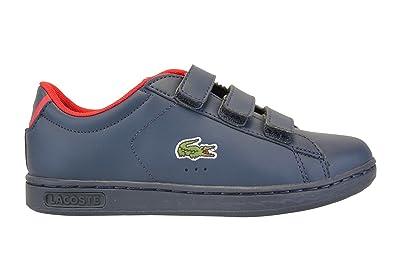 13840013b Lacoste Boys  Trainers Blue Blue  Amazon.co.uk  Shoes   Bags