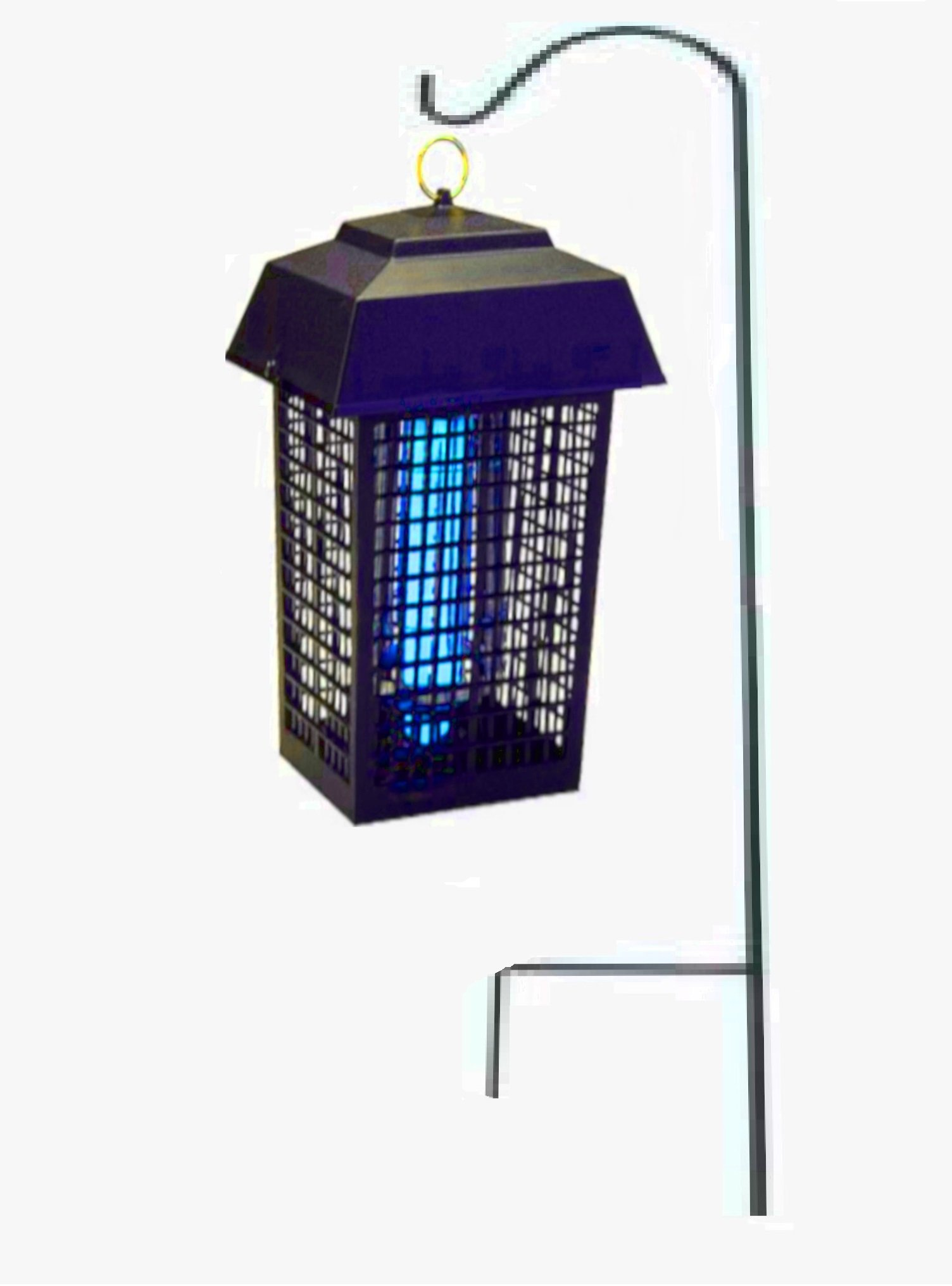 STS SUPPLIES LTD 2in1 Mosquito Killer Heavy Duty Repellent Trap UV Outdoor Electric Bulb Garden Yard Light Fly Bug Lantern & Ebook by AllTim3Shopping.