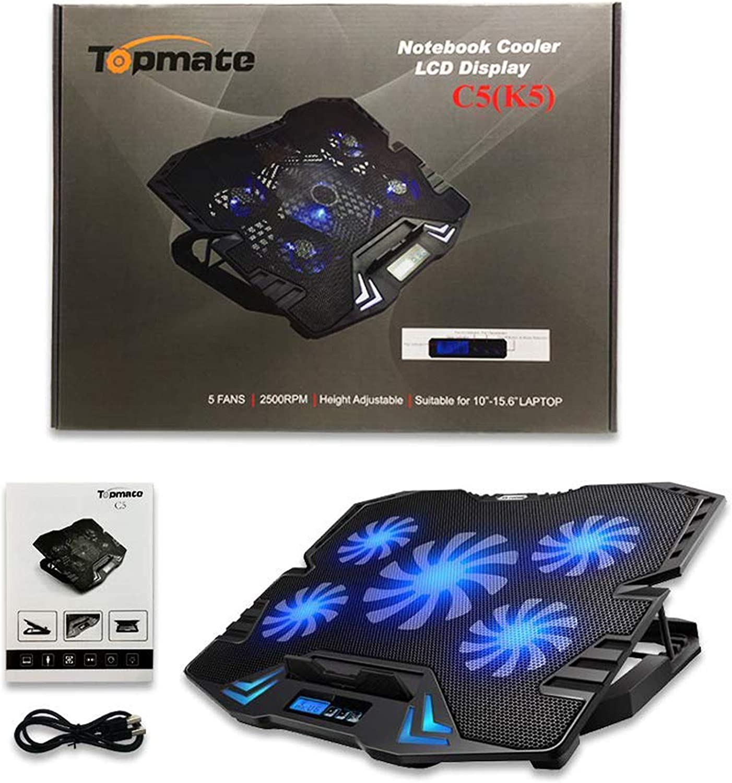 Luce Ventola USB Raffreddamento per Pc-Laptop a Casa Plastica Flessibile Led