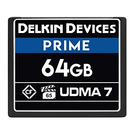 Amazon.com: Delkin Devices 256GB Prime CompactFlash VPG-65 ...