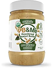 PB&Me Organic Powdered Peanut Butter (No Sugar Added), 453g