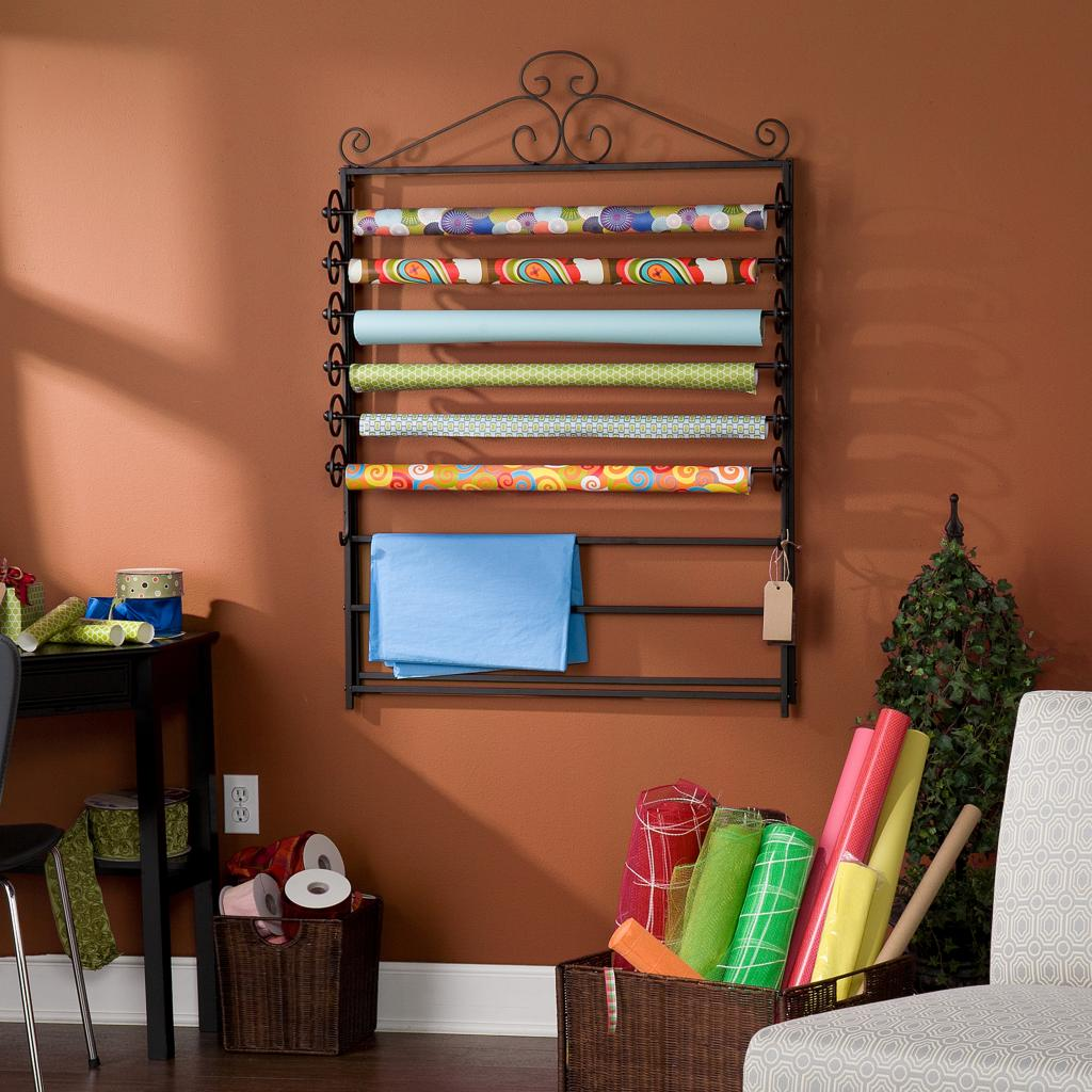 Southern enterprises easel wall mount craft for Craft wall storage system