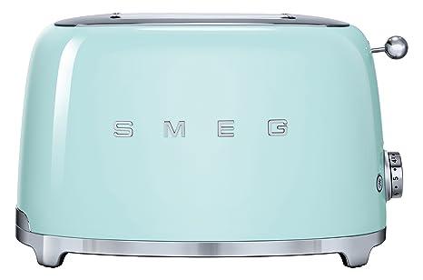 Smeg Kühlschrank Pastellgrün : Amazon smeg tsf pgeu toaster scheiben pastellgrün