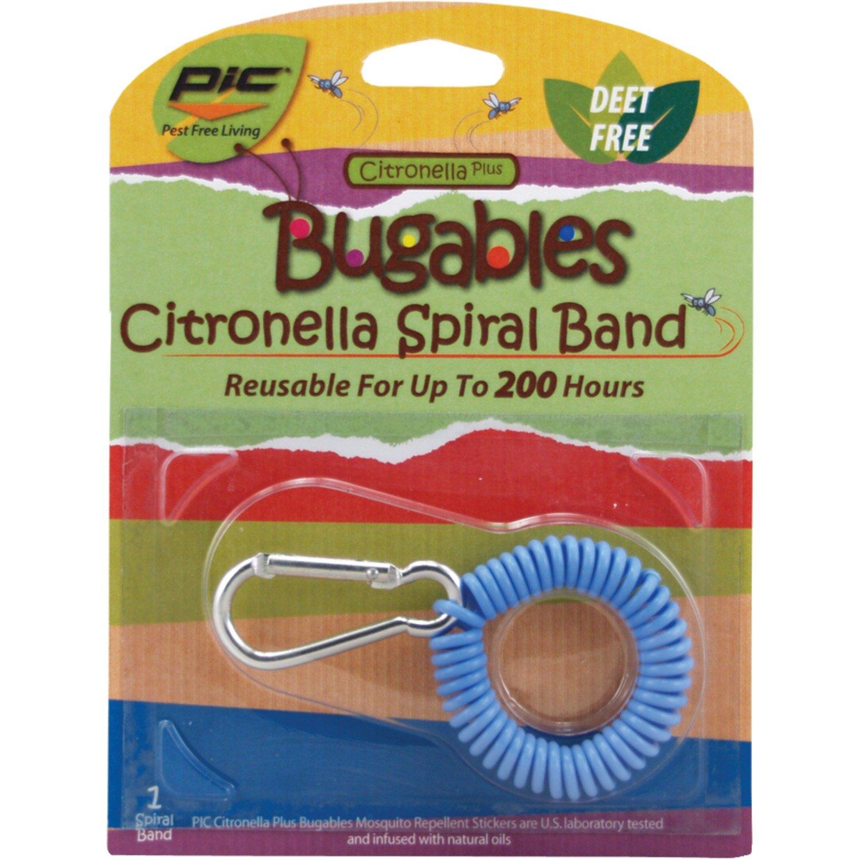 amazon com bugables bugcoil band citronella plus spiral band to
