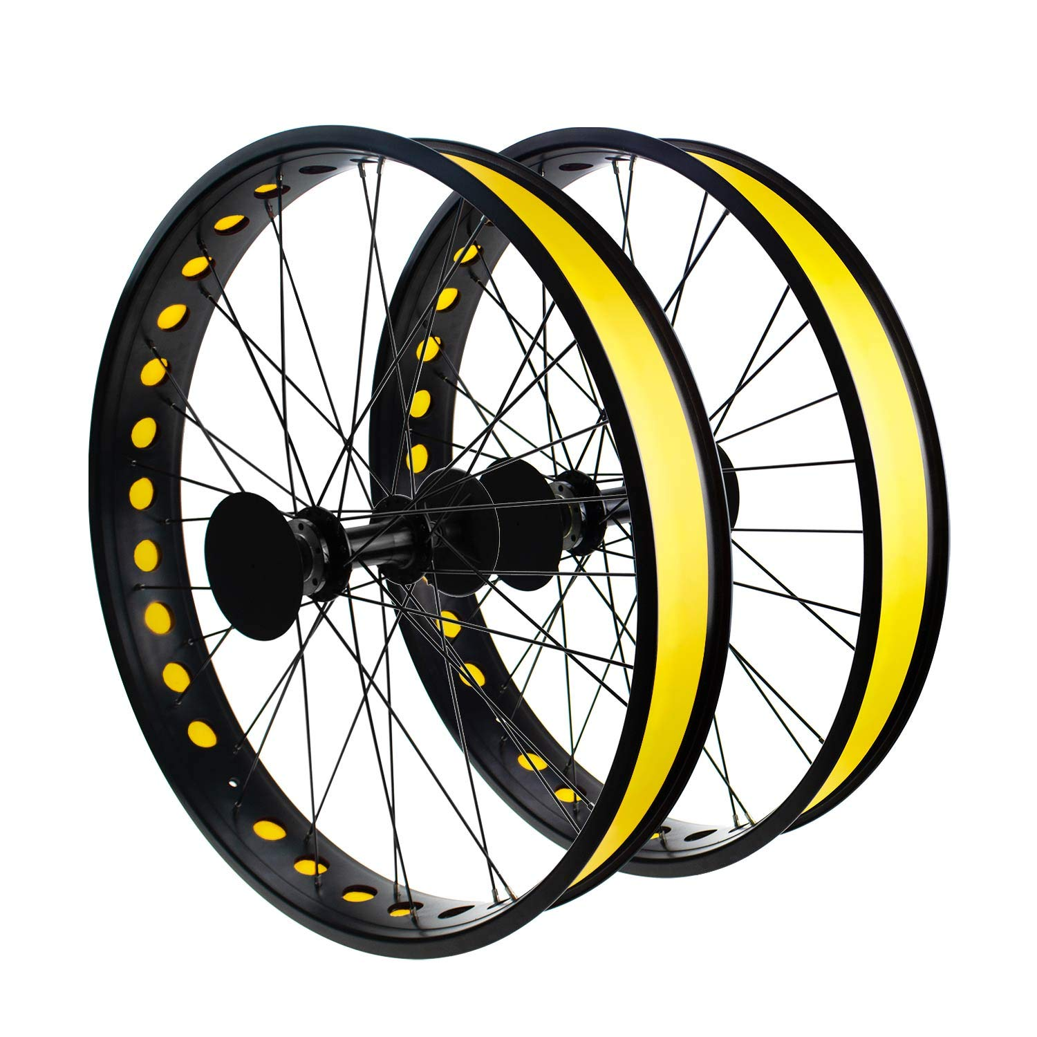 Addmotor Rim Strip Rim Tape 26 inch Fat tire Liner PVC Inner Tube Cushion Protector Anti Puncture for Bikes 4PCS