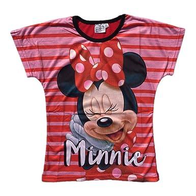 a37bc90c3 Disneys Minnie Mouse Camiseta de manga corta - para niña Negro Red black  4 5 años  Amazon.es  Ropa y accesorios
