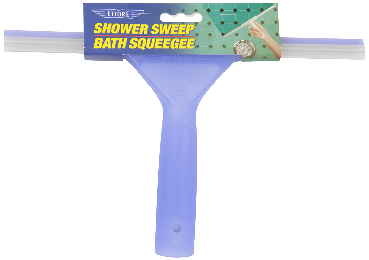 Purple Ettore Products 15102 Ettore Shower Sweep Squeegee