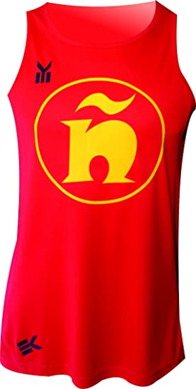 ESPAÑA Camiseta EKEKO INCREIBLE Ñ, Atletismo, Running y Deportes ...