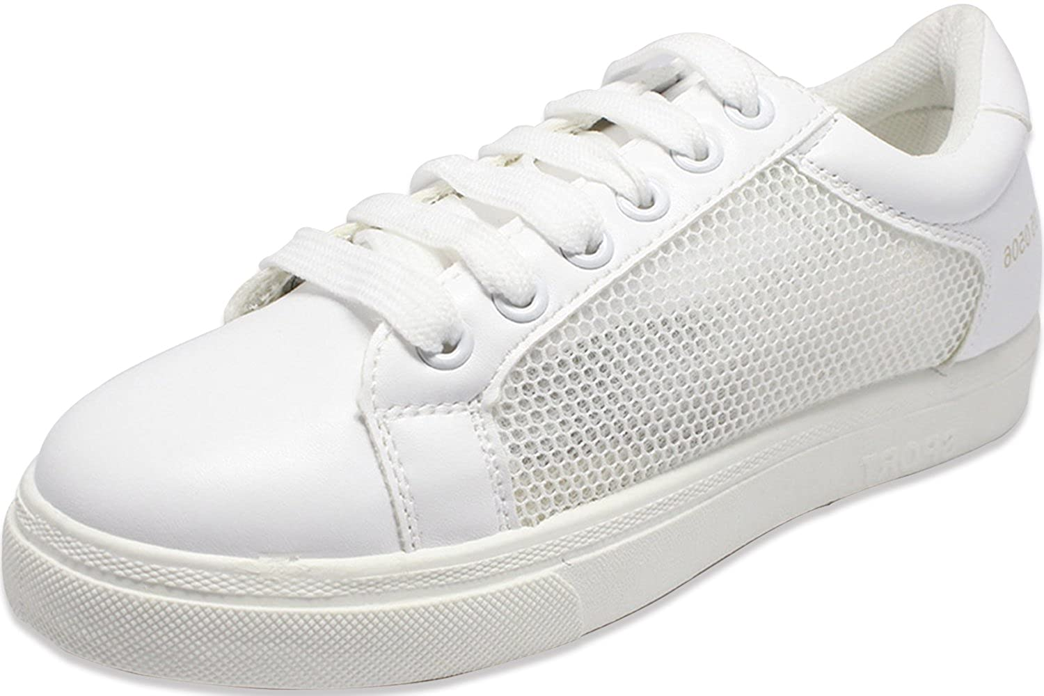 Couch Potato White Mesh Women Sneakers  Buy Online at Low Prices in India -  Amazon.in 562a684c2