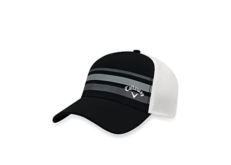 dca27b163bd00 Amazon.com   Callaway Golf- Stripe Mesh Cap   Sports   Outdoors