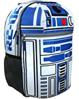 Star Wars R2D2 Boys 16 Inch Backpack - Features Lights and Sounds