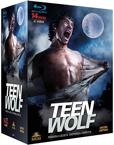 Pack Teen Wolf - Primera a Quinta Temporada Completa Blu-ray: Amazon.es: Tyler Posey, Crystal Reed, Dylan OBrien, Colton Haynes, Holland Roden, Russell Mulcahy, Tim Andrew, Toby Wilkins, Tyler Posey, Crystal Reed, Dylan