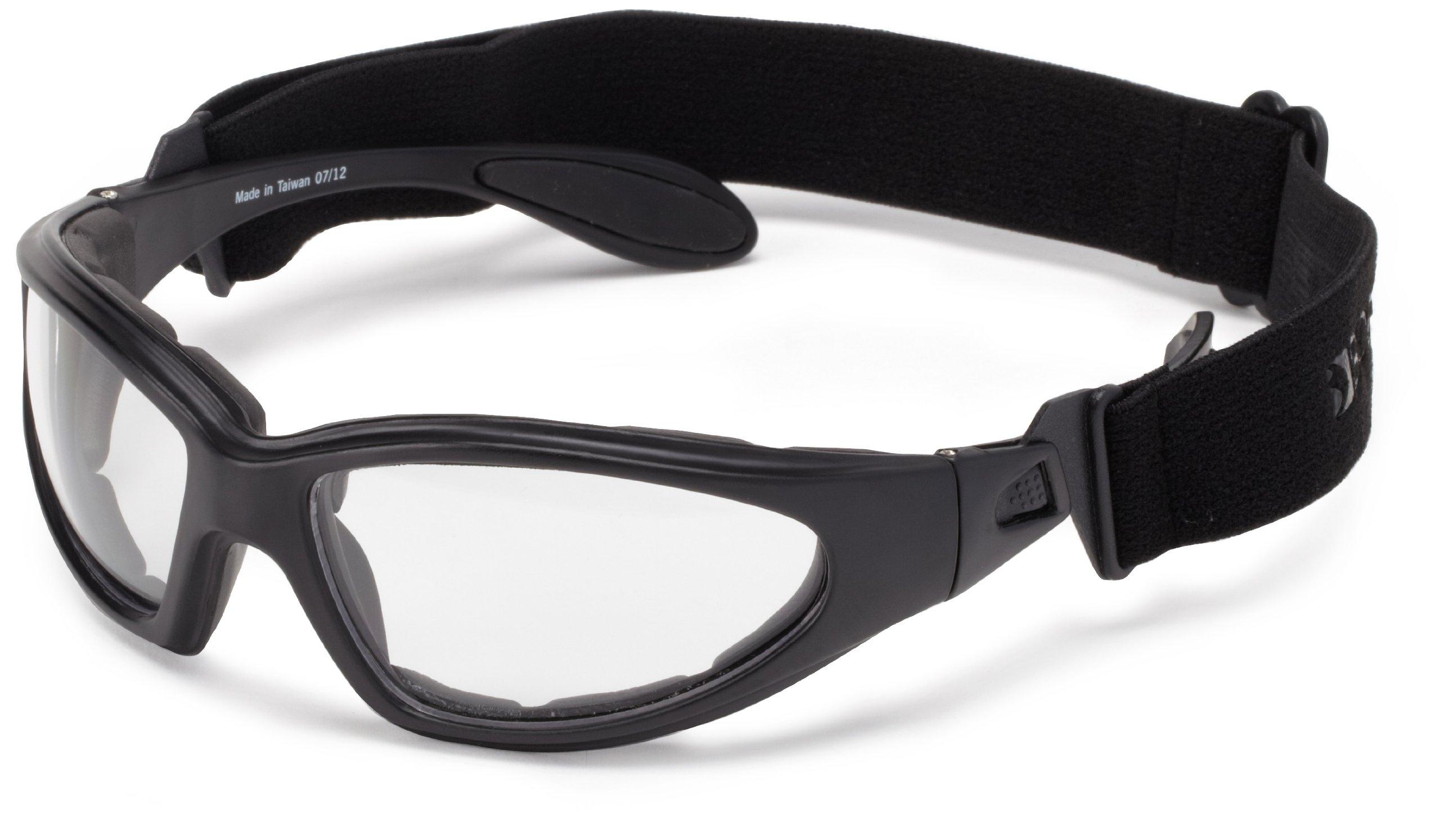 Bobster GXR Sport Sunglasses,Black Frame/Clear Lens,one size by Bobster (Image #6)