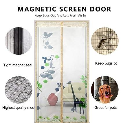 Amazon.com: Magneticr - Mosquitera para puerta, con imanes ...