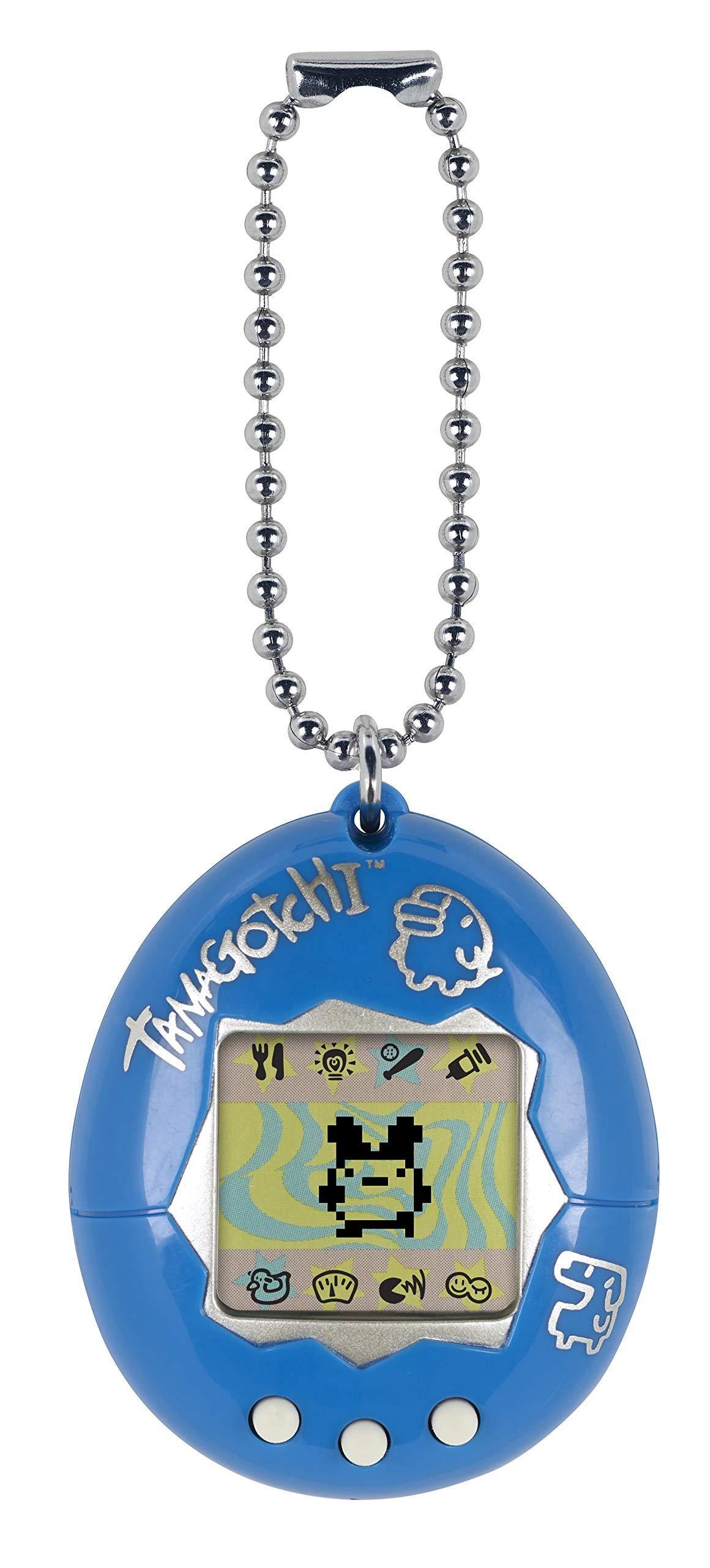 Tamagotchi Electronic Game, Blue/Silver